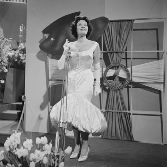 Margot Hielscher - Margot Hielscher at the Eurovision Song Contest 1958