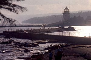 Grand Marais Light - Summer evening at Grand Marais