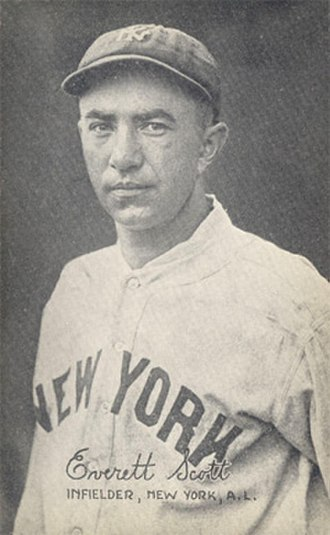 Everett Scott - Scott with the Yankees in 1922