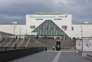 ExCeL London Exhibitions and international convention centre in the London Borough of Newham