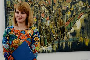 Exhibition TRANSCENSUM FortePROUN Palace of Art 30.04.2014 Minsk 12.JPG