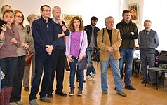 Exhibition of Spartak Arutunyan in Minsk 22.03.2015 09.JPG