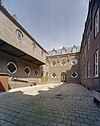 exterieur binnenhof klooster - 20000675 - rce