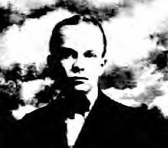 Ezra Fitch - Ezra Fitch, portrait from passport application