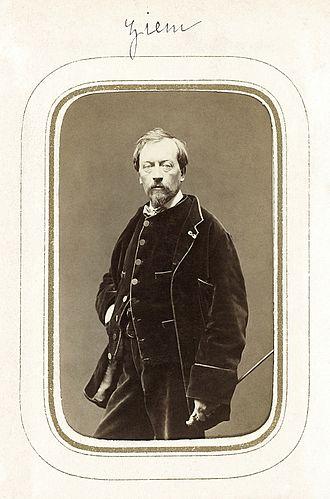 Félix Ziem - Image: Félix Ziem photograph BNF Gallica