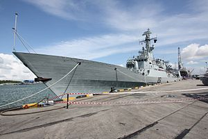 Hudong-Zhonghua Shipbuilding - The F-22P frigate built by Hudong-Zhonghua for the Pakistan Navy