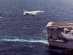 F-4B Phantom II of VF-114 lands on USS Kitty Hawk (CVA-63) on 27 April 1969 (NNAM.1996.253.7281.023).jpg
