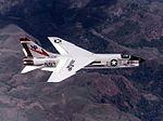 F-8J Crusader of VF-24 in flight in 1975.jpg