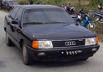 Changchun - A FAW-built Audi 100