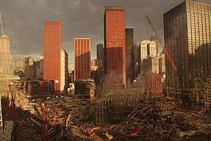 English: New York, NY, September 28, 2001 -- A...