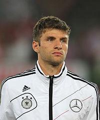 FIFA WC-qualification 2014 - Austria vs. Germany 2012-09-11 - Thomas Müller 01 edit.JPG