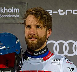 FIS Alpine Skiing World Cup in Stockholm 2019 Marco Schwarz 2.jpg