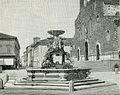 Faenza fontana pubblica in piazza Vittorio Emanuele xilografia.jpg
