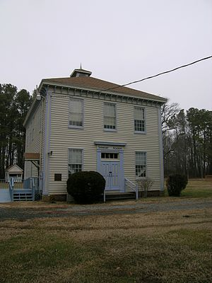 National Register of Historic Places listings in Somerset County, Maryland - Image: Fairmount Academy, front (21441593869)