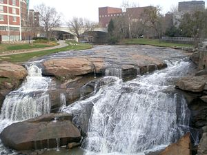 Falls Park on the Reedy - Image: Fallsparkonthereedy