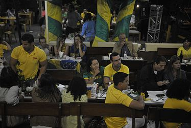 Fans celebrate the victory of the Brazilian team 01.jpg