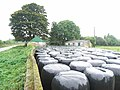 Farm Buildings and Silage Bales at Durhamstown, Co. Meath - geograph.org.uk - 570990.jpg