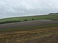 Farmland above Bishopstone - geograph.org.uk - 253204.jpg