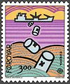 Faroe stamp 128 sea pollution - dumping.jpg