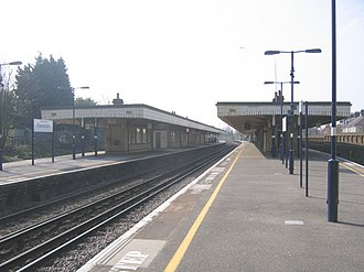 Faversham railway station - Image: Faversham Railway Station