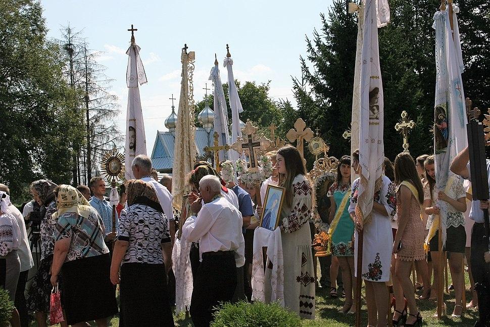 Feast of Transfiguration in Spas village 12