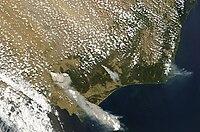 February 7 Victoria Bushfires - MODIS Aqua.jpg