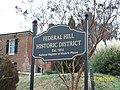 Federal Hill Sign Dec 08.JPG