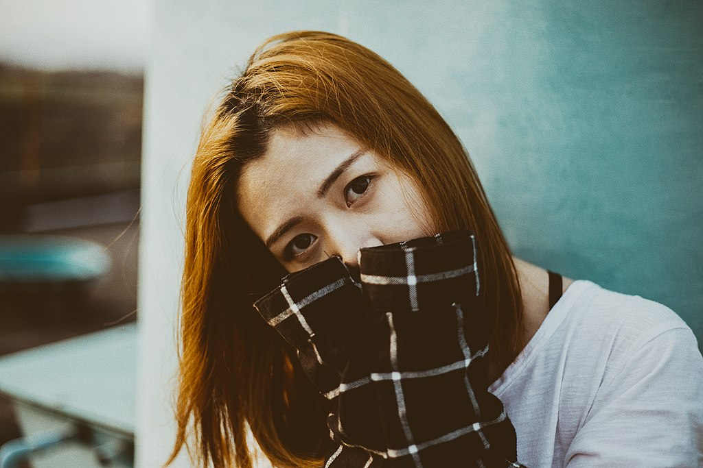 Image result for shy girl