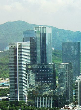 Phoenix Television - The China Phoenix Building is the Shenzhen headquarters of Phoenix Television