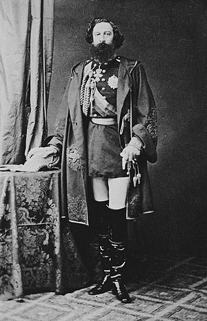Ferdinand II of Portugal - King Ferdinand in 1861