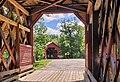 Ferme-Rouge et ses 2 ponts couverts se rejoignant sur l'île Siebert - panoramio.jpg