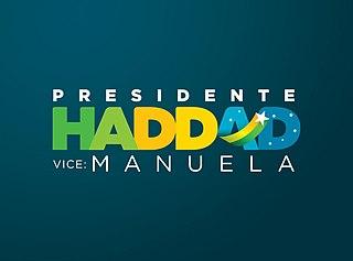 Fernando Haddad 2018 presidential campaign fernando haddad