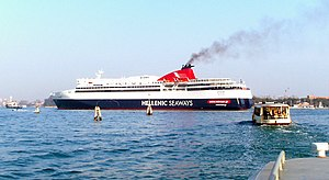 Ferry Ariadne of Hellenic Seaways/Minoans Line...