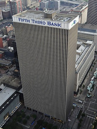 Fifth Third Bank - Fifth Third Bank corporate headquarters in Downtown Cincinnati