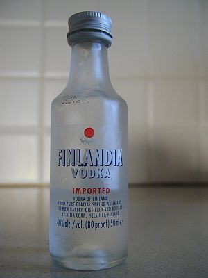 Finlandia (vodka) - Image: Finlandia vodka