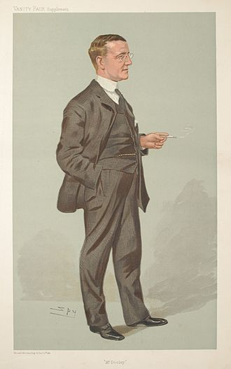 Finley Peter Dunne - Caricature of Finley Peter Dunne by Leslie Ward, published in Vanity Fair, July 27, 1905