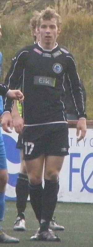 Finnur Justinussen - Image: Finnur Justinussen a Faroese Football Player
