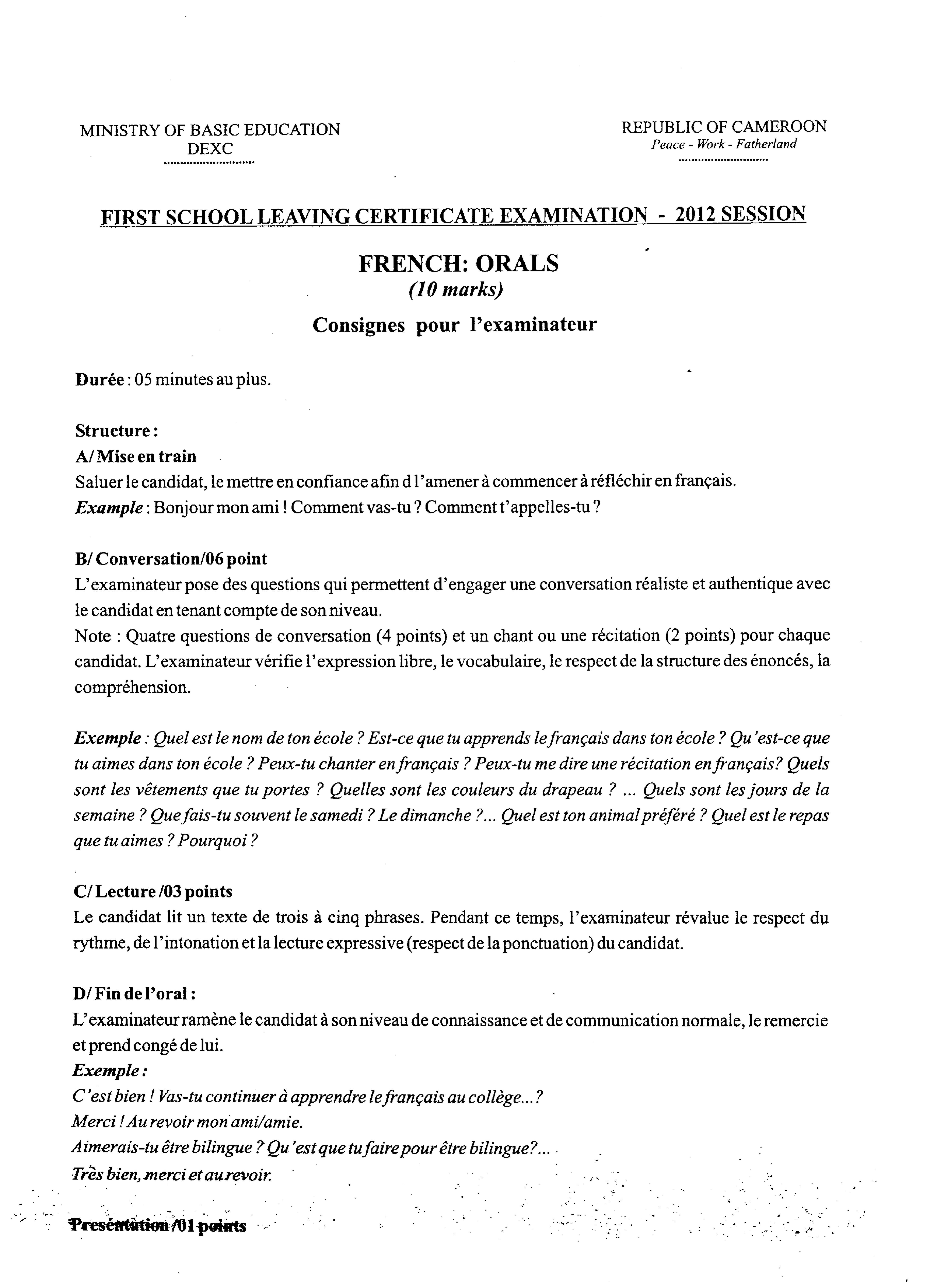 Filefirst school leaving certificate examination2012pdf filefirst school leaving certificate examination2012pdf yadclub Gallery