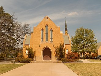 Ozona, Texas - First United Methodist Church of Ozona; pastor Jean Reardon (2014)