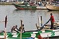 Fishermen and Perogues in Benya Lagoon - Elmina - Ghana (4716339833).jpg