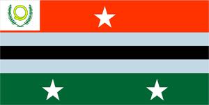 Autonomous administrative division - Image: Flag of Penama