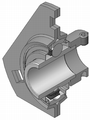 Flanged-housing-unit din626-t3 type-db-yel 180.png