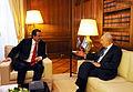 Flickr - Πρωθυπουργός της Ελλάδας - Αντώνης Σαμαράς - Συνάντηση με τον Πρόεδρο του Ισραήλ κ. Shimon Peres (4).jpg