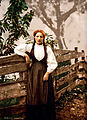 Flickr - …trialsanderrors - Voss girl, Hardanger Fjord, Norway, ca. 1897.jpg