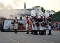 Flickr - Official U.S. Navy Imagery - Members of the 1812 Marines perform a firing demonstration during the 2012 Sunset Parade hosted by USS Constitution from the ship's berth in the Charlestown Navy Yard as part of Boston Navy Week..jpg