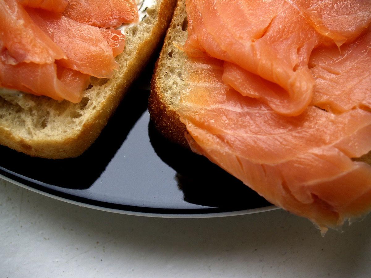 Ricetta Salmone Norvegese Affumicato.Salmone Affumicato Wikipedia
