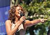 Whitney Houston på TV-showet Good Morning America i 2009. Foto: Asterio Tecson