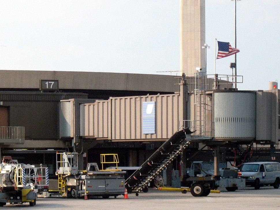 Flight 93 gate flag