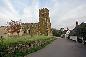 Flitton - Image: Flitton Church and surrounds geograph.org.uk 5110