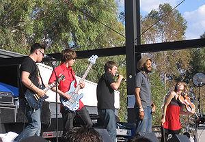Flobots - Flobots at KFMA Day in Tucson, Arizona on May 16, 2008.